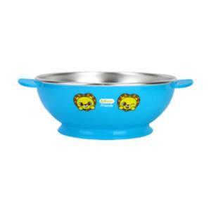 논슬립 스텐 대접 사자 1P 유아 어린이 식기 밥그릇