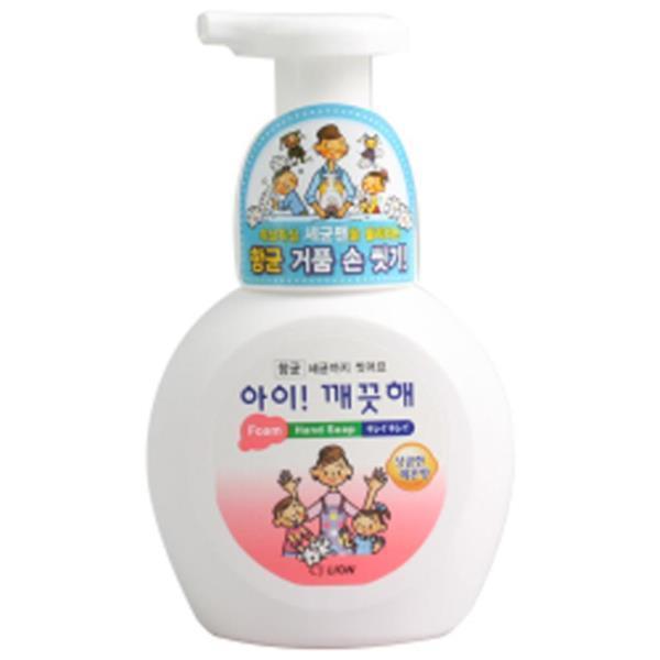 아이깨끗해 핸드워시 용기 거품형 레몬 250ml 손세정