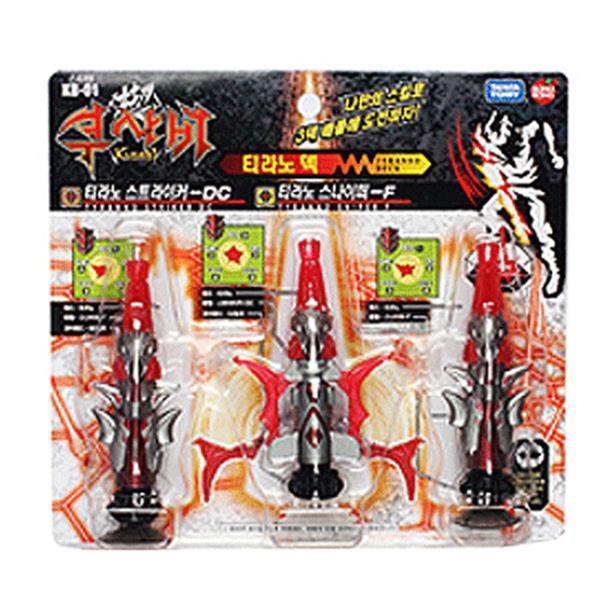 스타터 티라노덱 바닥 다트 포인트배틀 게임 장난감