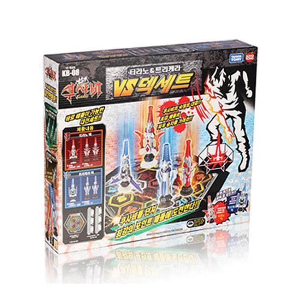 쿠사비티라노 트리케라 세트덱 전략보드게임 장난감