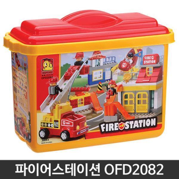 파이어스테이션 토들블럭 장난감 유아 어린이 완구