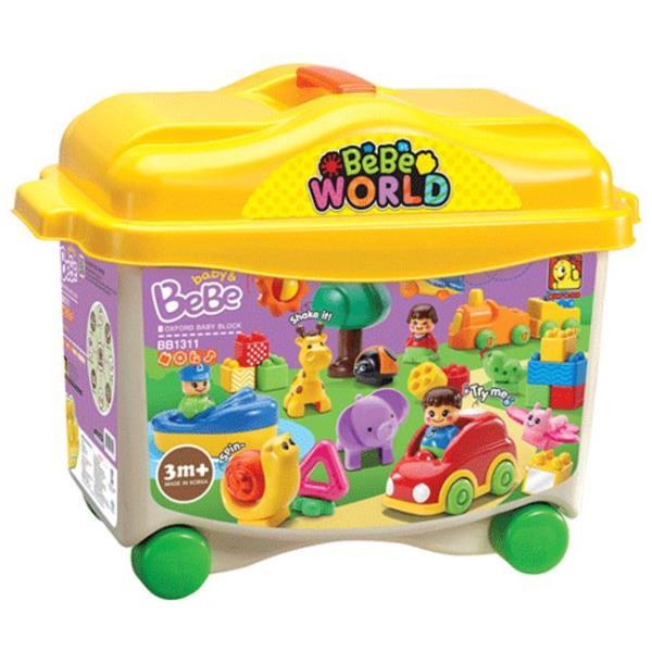 조립 블록 BB1311 베베월드 피규어 장난감 완구