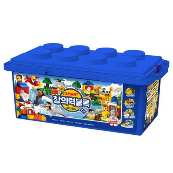 조립 블록 스마트 창의력블록 CQ2661 피규어 장난감