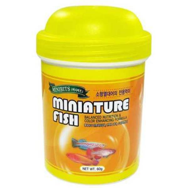 미니 소형 열대어 피쉬 물고기 관상어 사료 60g