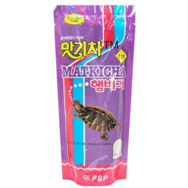 영양 애완 거북이 터틀 전용 사료 먹이 밥 160g
