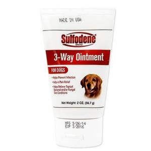 설포딘 반려견용 피부보호 방수 치료연고 56.7g 1개