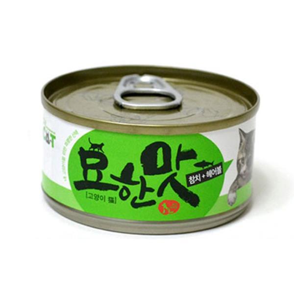 고양이 참치캔 80G 1P 수분가득 헤어볼 영양간식