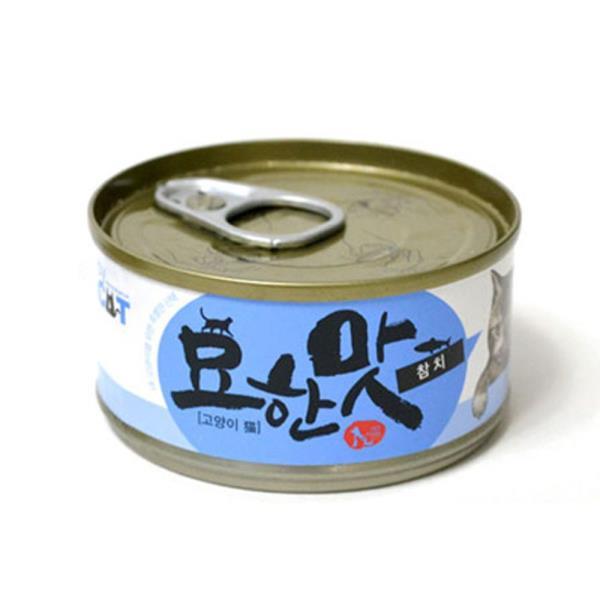 고양이 참치캔 80G 1P 수분가득 오리지널 영양간식