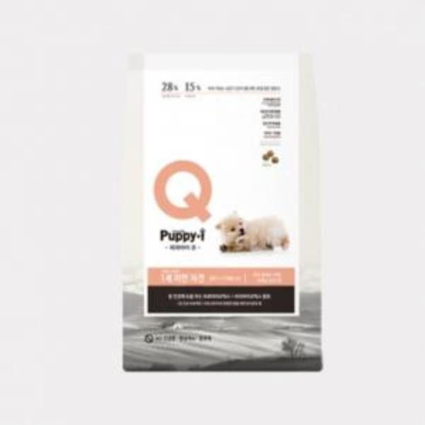 자견용 1세미만 강아지 장건강 개밥 건식사료 1.5kg