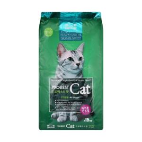 헤어볼관리 15KG 1P 고양이 건식사료 전연령용 주식