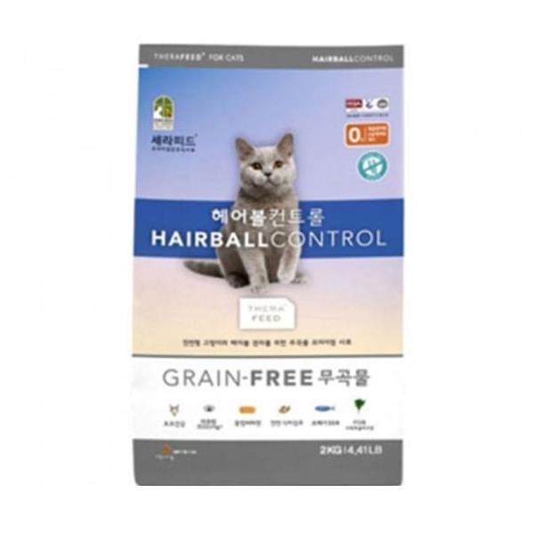그레인프리 고양이 건사료 7KG 1P 헤어볼관리 키블