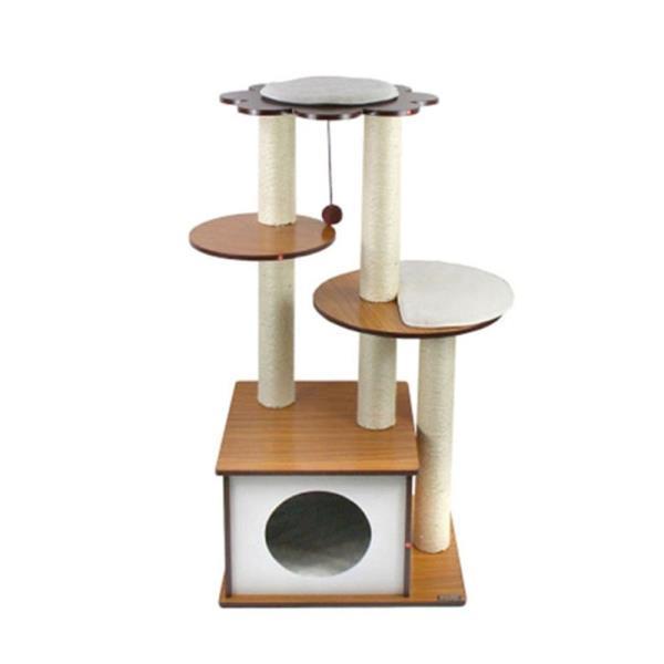 고양이 캣타워 1p M-2 캣폴 하우스 장난감 스크래쳐