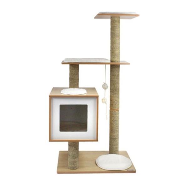 고양이 캣타워 1p M-4 캣폴 하우스 장난감 스크래쳐