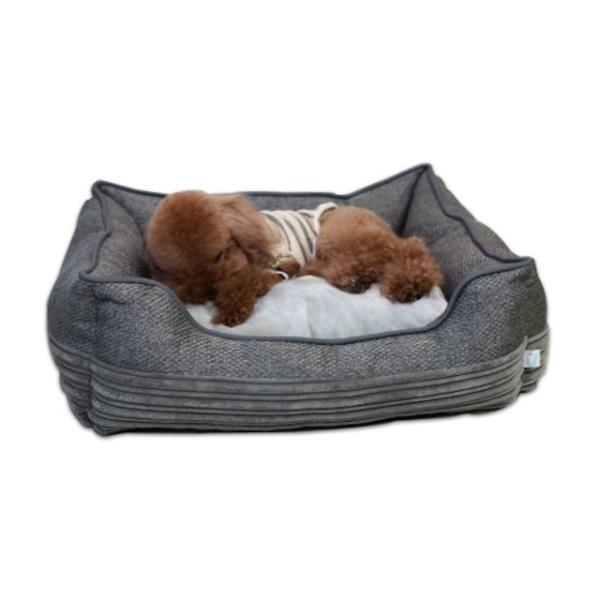 고양이 강아지 사각 방석 1P 쿠션 침대 집 하우스