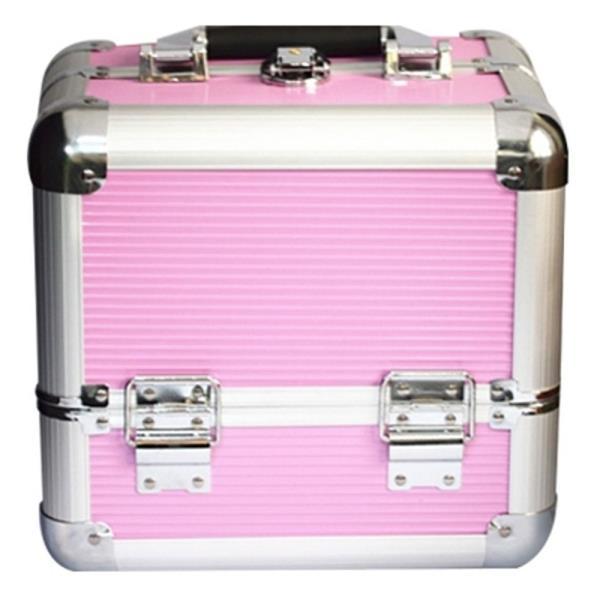 미니 도구함 핑크 수납 가방 1P 미용도구 보관 박스