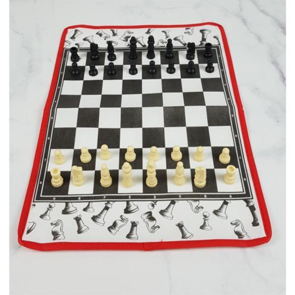 접을수 있는 타포린 체스판 체스세트 25X37
