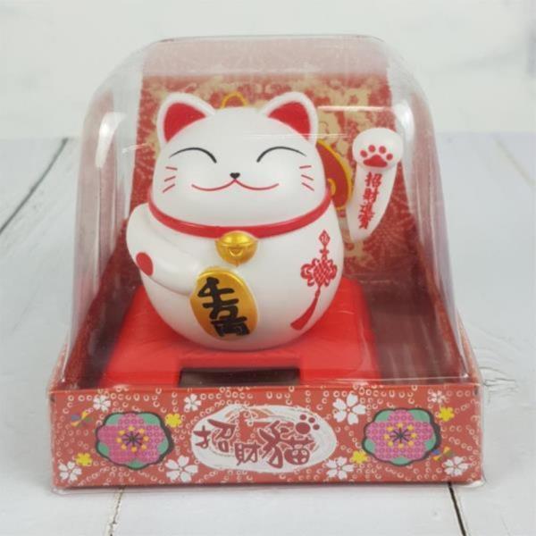 태양열 인형 고양이 노호혼 마네키네코 3종 택1