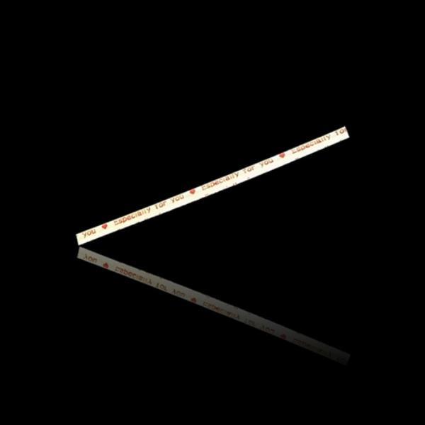 데코 크라프트 타이 고급형 포장끈 -레드 200개