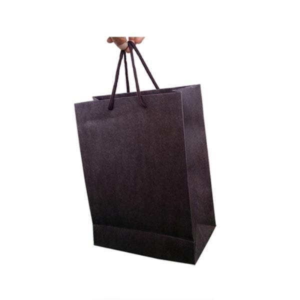 엠보 크라프트 쇼핑백 브라운 33X28cm 폭10cm 20매
