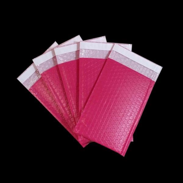 택배 안전봉투 핑크 19X23cm 접착4cm 20매