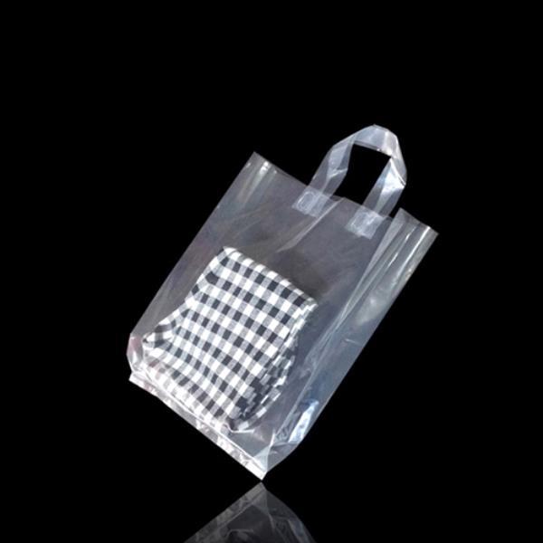투명 클리어 쇼핑백 26X32cm +옆면6cm 150매