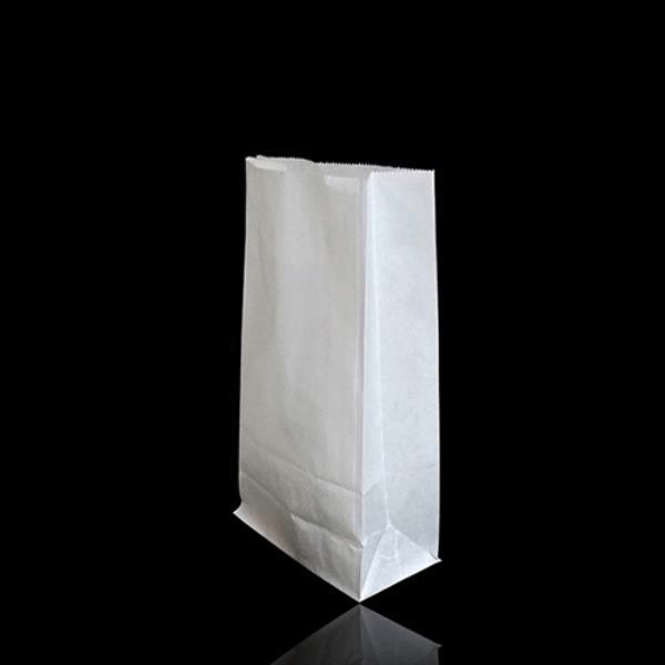 화이트 실속형 각대 종이봉투 12X22cm 폭6cm 300매