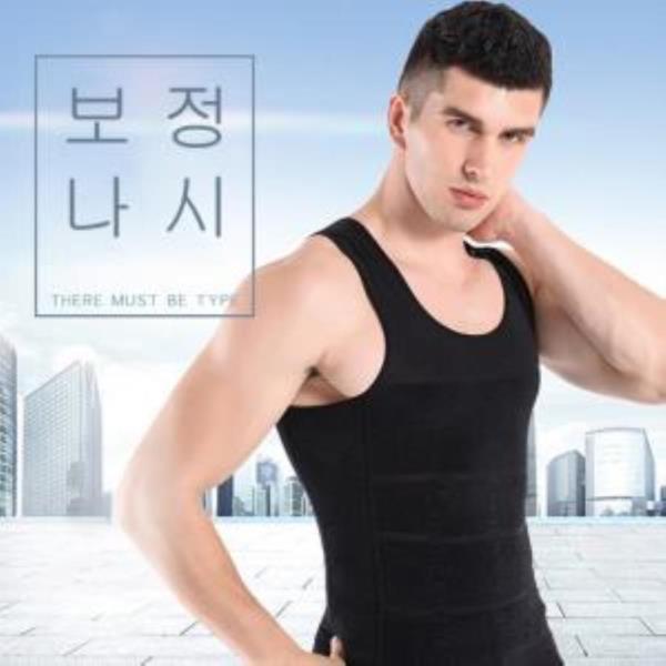 남성속옷 배살커버 몸매보정 나시