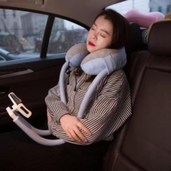 차박 목베개 거치대 태블릿 스마트폰 자바라 목쿠션