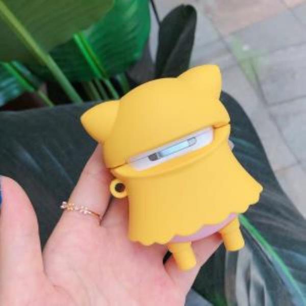 노란우비 돼지 에어팟호환케이스 1세대 2세대
