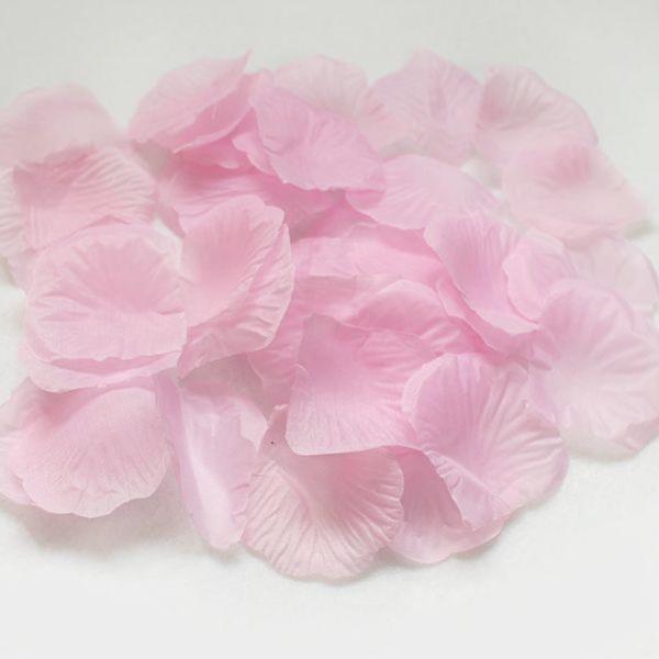 실크 조화꽃잎 연핑크 100장