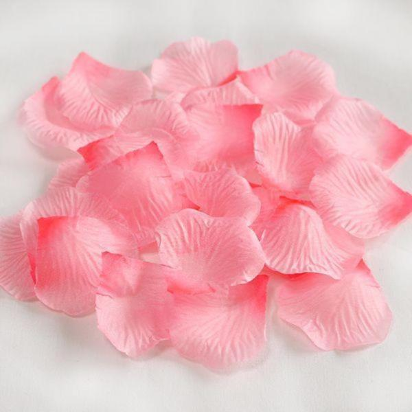 조화꽃잎 자몽핑크 100장 - 플라워샤워 실크꽃잎