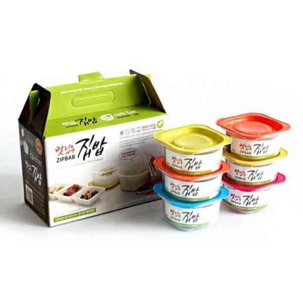 맛있는 냉동밥 밀폐용기 4호 6개입