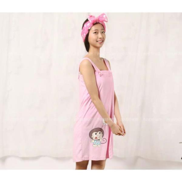 몽키 랩 샤워가운 목욕가운 4001☆