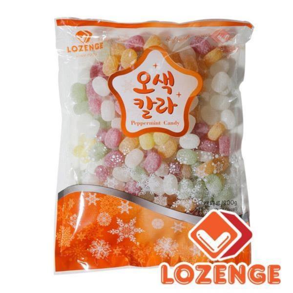 오색칼라_알박하 900g 박하맛사탕 알사탕 후식사탕 맛