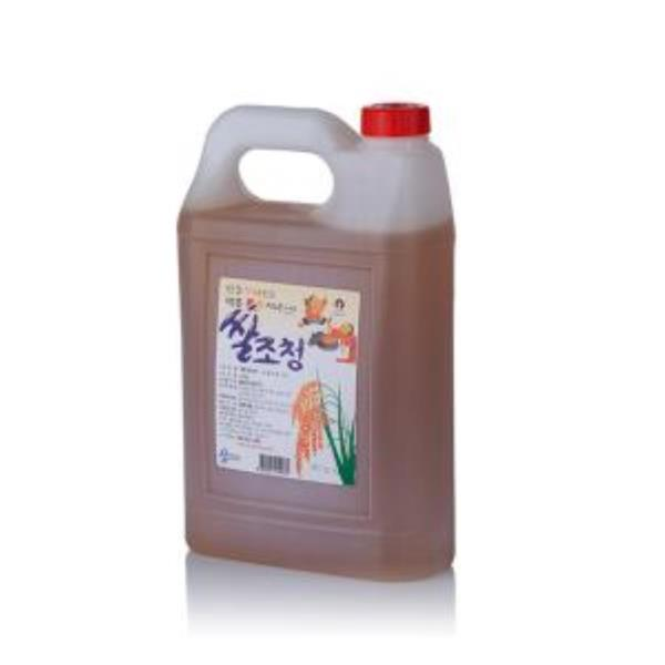 쌀조청 4.7kg 전통조청 물엿 쌀엿 조청물엿 물엿대신