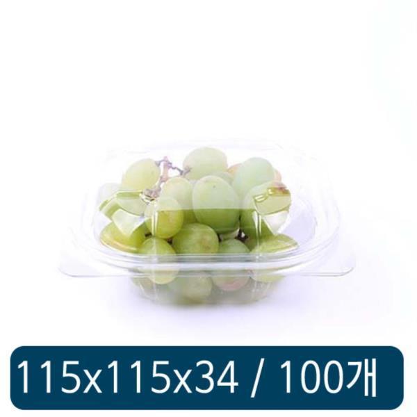 투명 반찬용기 DL-107 100개 세트
