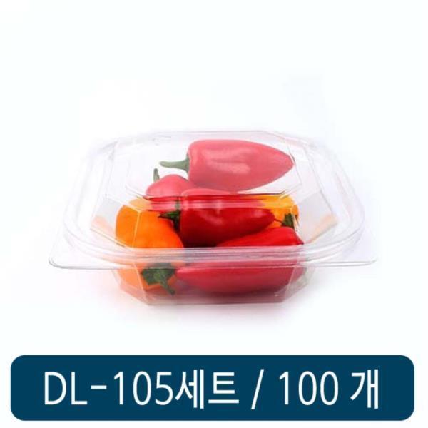 DL 105 (투명) 세트 100개