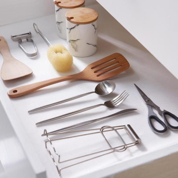 식탁 냉장고 서랍 싱크대 투명 논슬립 매트 시트 2EA