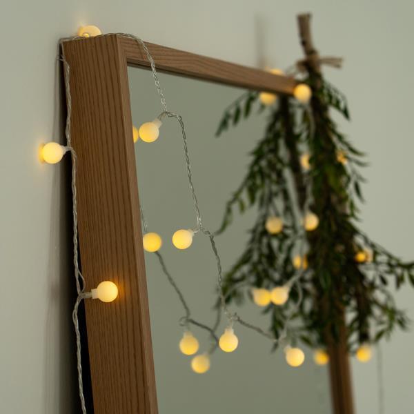 크리스마스 LED 꼬마 트리 앵두 전구 조명 장식 10M