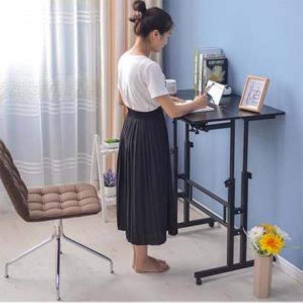 1인용 서서쓰는 사무용 컴퓨터 책상 테이블