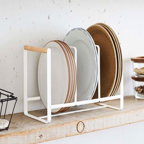 주방 인테리어 3단 그릇 접시 정리대 거치대 꽂이