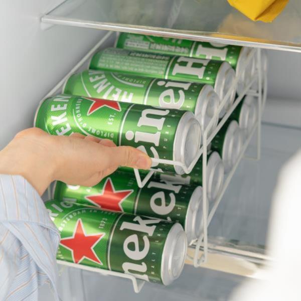냉장고 수납 정리 음료수 10캔 홀더 거치 굴링렉