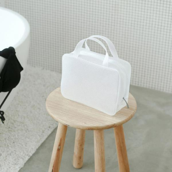 여행용 화장품 투명 물놀이 방수 파우치 5종(핸드백)