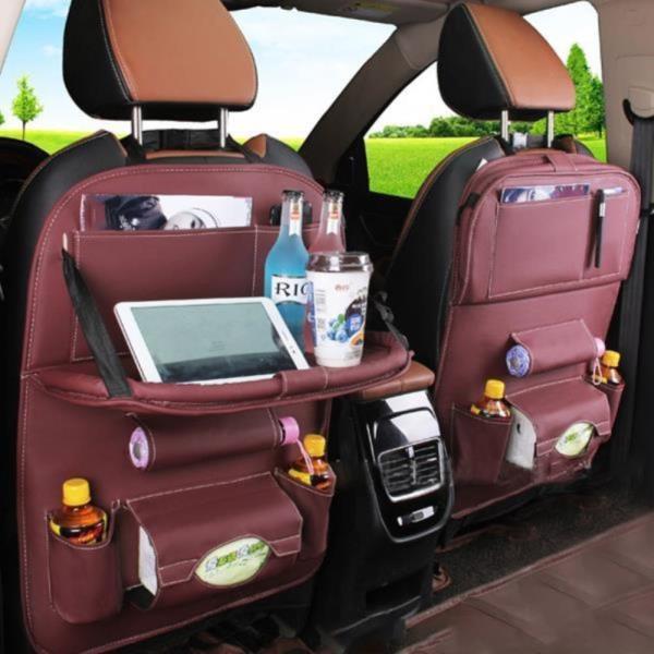 차량용 테블릿 거치 자동차 뒷자석 수납함 시트백