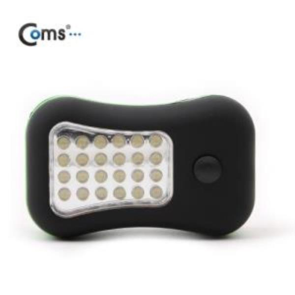 28 LED 램프 Magnetic Work Light 그린