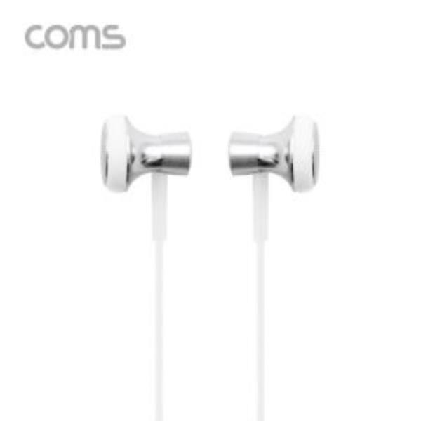이어폰 볼륨 조절 마이크 1.2m White