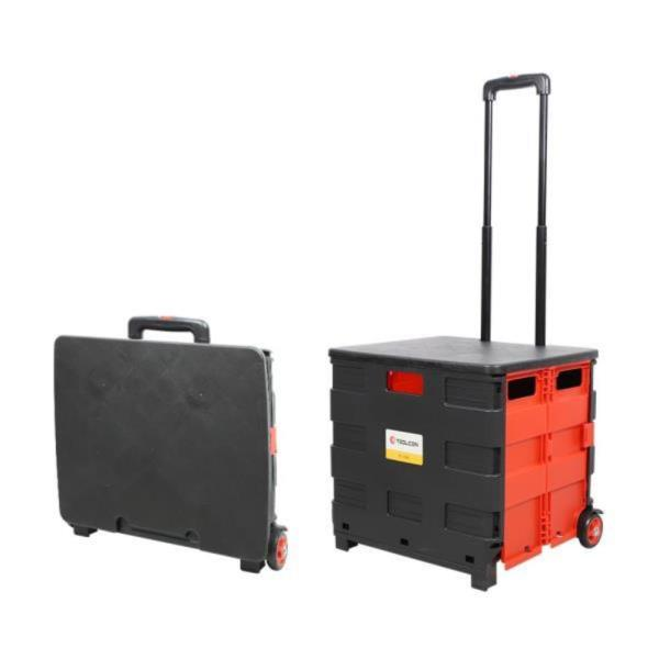 툴콘]TC-35KC 접이식 쇼핑카트 (35kg,덮게포함)