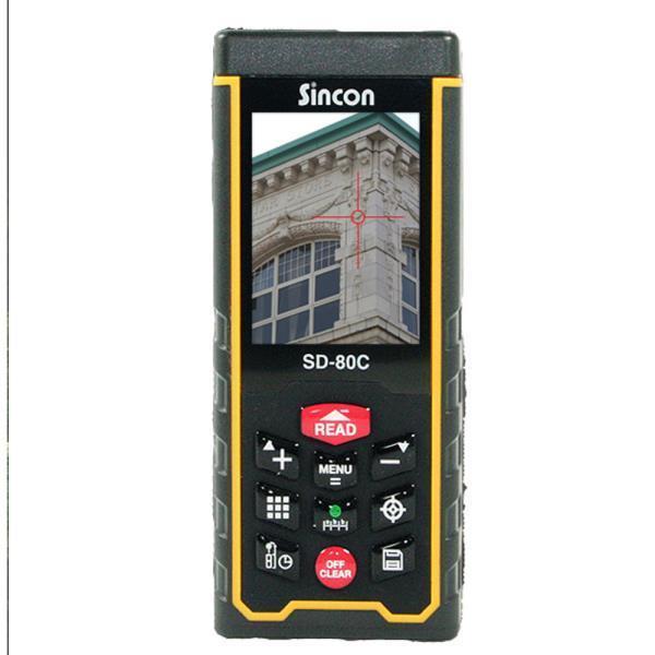 신콘]SD-80C 레이저거리측정기 - 뷰파인더기능 (80M)