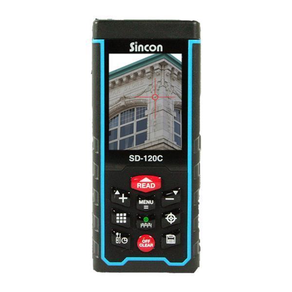 신콘]SD-120C 레이저거리측정기 - 뷰파인더기능