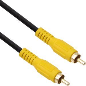 RCA 1선 5파이 케이블 영상 캠코더 비디오 AV TV 연결 5M